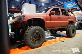 sema jeep 2016 2016 sema armadillo liner jeep wj grand cherokee