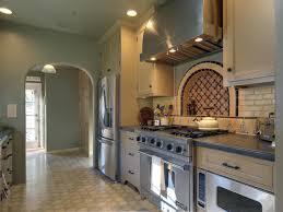 grey high cabinet for oven mediterranean kitchen designs double