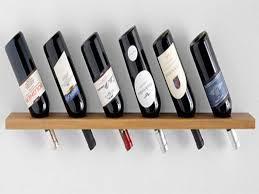 creative diy wall mount wine rack design ideas with reclaimed pine