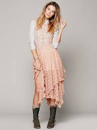 free people foil print french courtship in pink lyst