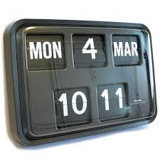 flip clock ebay