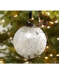 tis the season for savings on etched mercury glass ornament large