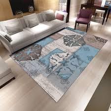 tapis de sol chambre moderne contracté abstrait tapis chambre salon ménage