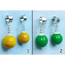 potara earrings handmade potara earrings