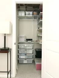 Closet Office Desk Mesmerizing Organized Guest Room And Home Office Closet Office