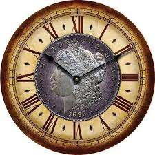 7 best coin wall clocks images on pinterest wall clocks coins