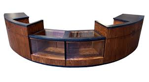 Retail Desk Custom Service Counter Newood Display Fixtures