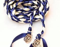 wedding handfasting cord navy celtic knot wedding handfasting cord v2 wedding ceremony