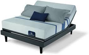 500800098 1050 i comfort blue 100 firm memory foam mattress
