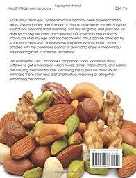 acid reflux diet cookbook companion food journal daniel saiers