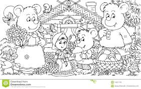 three bears and little royalty free stock photo image 14527745