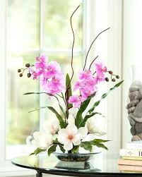 faux flower arrangements artificial flower arrangements for living room floral arrangements