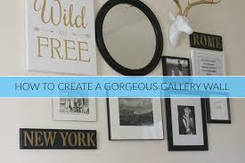 How To Design A Gallery Wall The Secrets To Creating A Gallery Wall Connecticut In Style