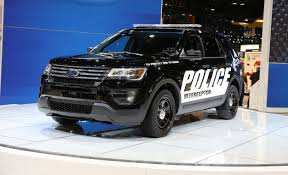 ford explorer vs chevy tahoe redesigned 2016 ford interceptor utility is here to haul