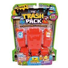 trash pack series 7 1073 red ring worm trashie ebay