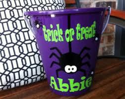 personalized halloween bucket halloween ice bucket hostess