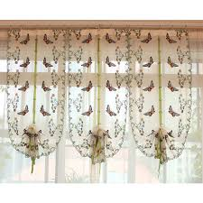 Butterfly Kitchen Curtains Curtain Stock Picture More Detailed Picture About 2016 Butterfly