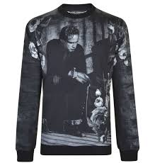 best sale discounted sweatshirt dolce u0026 gabbana men black white