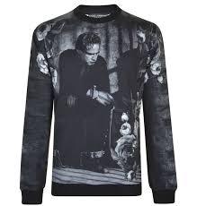 best sale discounted sweatshirt dolce u0026 gabbana men black white