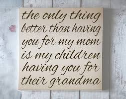 grandma typography wood sign home decor word art your choice