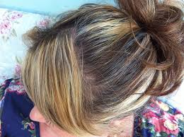 highlights to hide greyhair shabbychicsarah the blonde bodge job