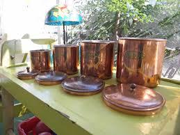 Copper Canisters Kitchen Small Copper Kitchen Accessories U2013 Quicua Com