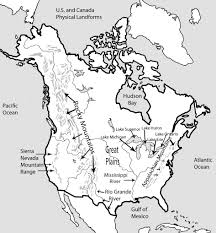 Canada Usa Map by Download Map Of Canada Usa 2 Major Tourist Attractions Maps