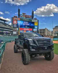 mud truck diesel brothers heavy d with diesel brothers built a cadimax cadillac escalade