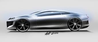 concept car side view sketching by koleos33 on deviantart