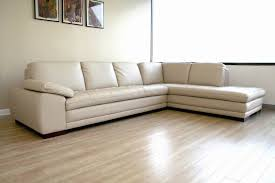 Leather Modern Sectional Sofa Diana Beige Leather Modern Sectional Sofa W Chaise Interior Express
