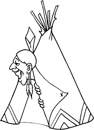 indian coloring pages coloringsuite com