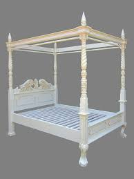 vibrant creative four poster bed frame home designing