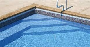 stairs for inground pool round designs