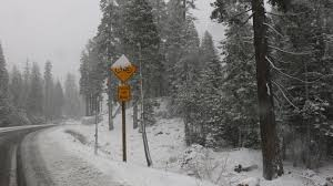 and then there was snow carson pass to south lake tahoe