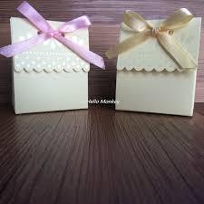 Wedding Candy Boxes Wholesale 1pc Cream Milk House Wedding Favor Boxes Candy Boxes Paper Gift