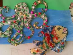 shree u0027s crafts for kids sea animals