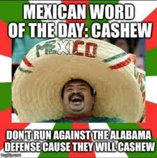 Spanish Word Of The Day Meme - best alabama football memes from the 2015 season