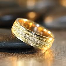 Wedding Ring On Right Hand by Infinity Celtic Knot Wedding Band 14k Yellow Gold By Lamoredesign