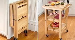 folding island kitchen cart amazing tea carts on wheels handcrafted 145 inch wooden walnut tea