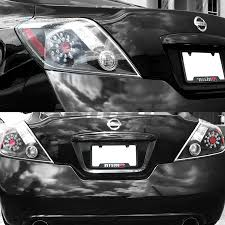 nissan altima 2013 led headlights for 2008 2013 nissan altima 2dr coupe black led rear brake tail
