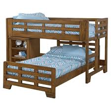 bunk beds dcg stores low loft bed with caster bed spice brown