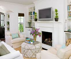 Classic White Living Room Furniture Classic White Fireplace For Amazing Living Room Design With Round