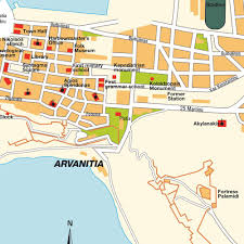 Greece Maps by Map Nafplio Greece Maps And Directions At Map