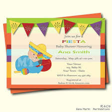 mexican baby shower charming mexican themed baby shower invitations 83 for baby shower