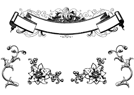 free antique floral ornaments and scroll clip freevectors