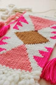 diy loom hand woven wall hanging 6 house design ideas