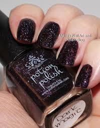 marias nail art and polish blog potion polish dark magic swatches