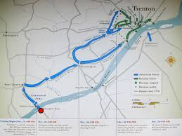 Washington Ferry Map Crossing The Delaware Https Mybonnie Wordpress Com