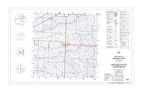 Map Of Sd Kansas Department Of Transportation County Maps