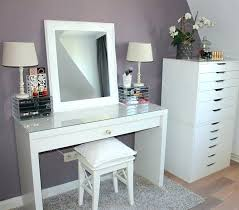 coiffeuse de chambre meuble coiffeuse bureau affordable chambre duados nos ides dco